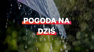 Pogoda na dziś - deszcz