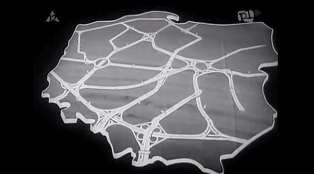 600 km autostrad w roku 1980 i dalsze 950km w ciągu kolejnej dekady - takie były plany
