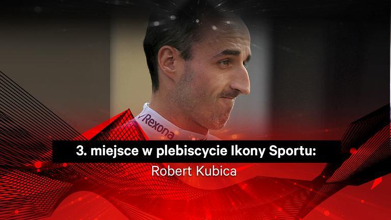 Robert Kubica 3. w plebiscycie Ikony Sportu