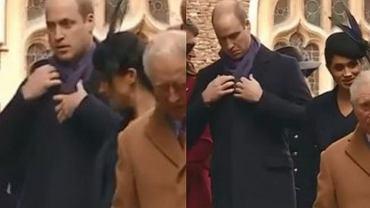 Książę William zignorował księżną Meghan