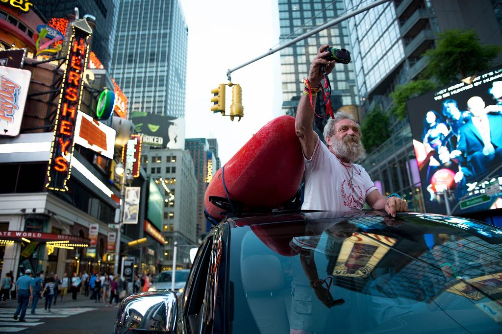 Aleksander Doba w Nowym Jorku
