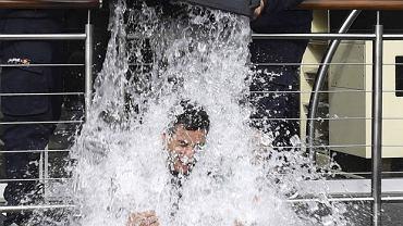 Ice Bucket Challlenge - tu w wykonaniu zespołu Formuły 1 Red Bull
