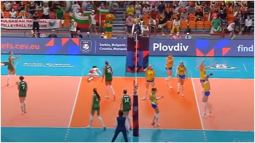 Szwedki pokonały Bułgarki w meczu 1/8 finału ME siatkarek