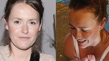 Olga Frycz zabrała córkę na basen