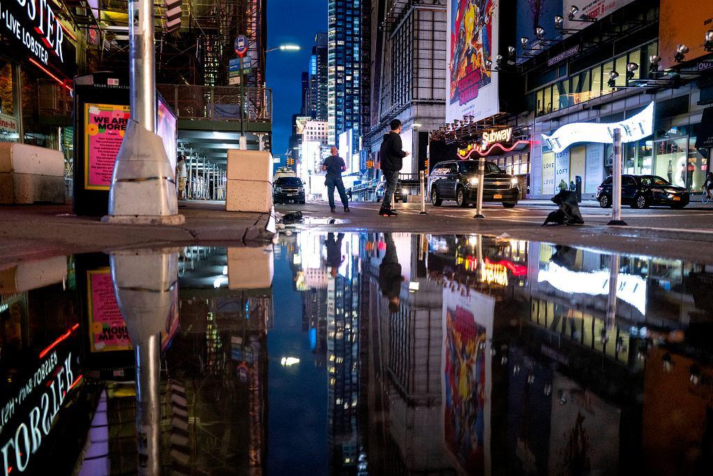 Ulewa w Nowym Jorku
