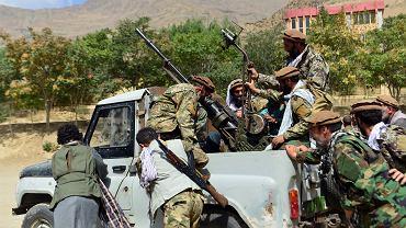 Przeciwnicy talibów w Pandższirze