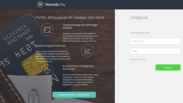Strona internetowa Mondeo Pay