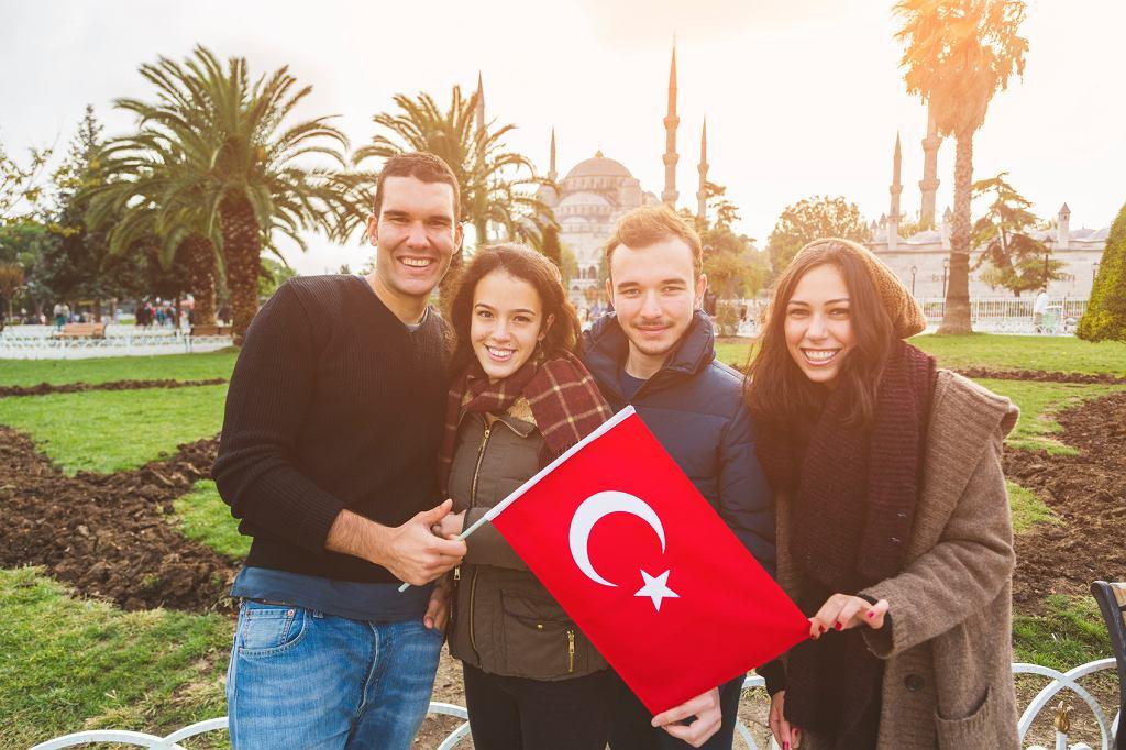 Turcja - grupa przyjaciół