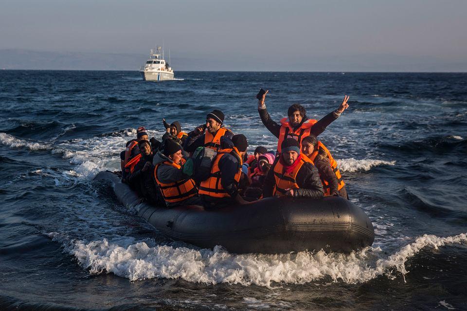 Uchodźcy u wybrzeży Grecji