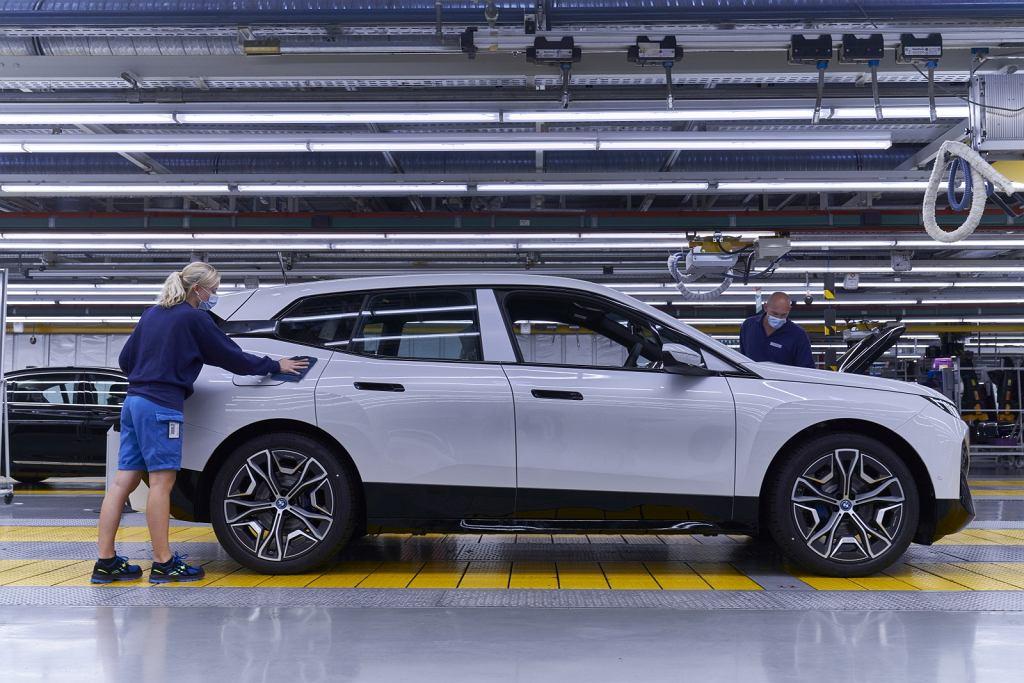 Produkcja BMW iX w Dingolfing