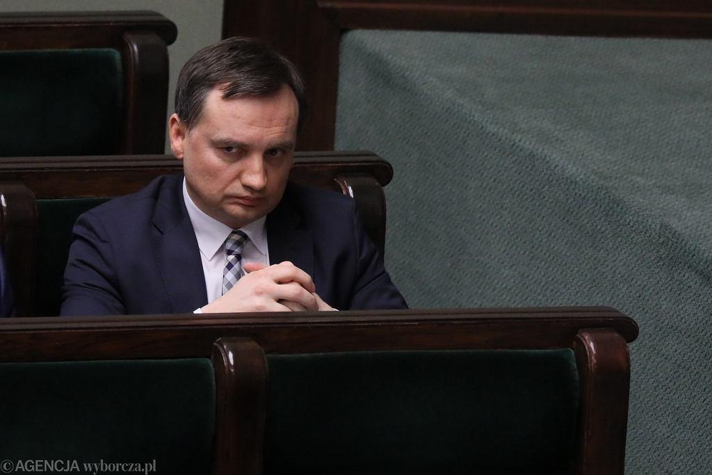 Debata nad wnioskiem opozycji o wotum nieufności wobec Zbigniewa Ziobry