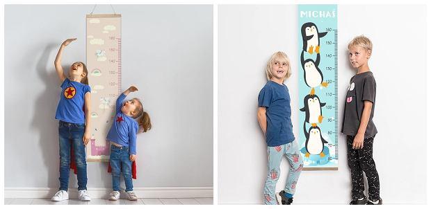 Miarka wzrostu dla dzieci - przydatny i ładny element wystroju pokoju malucha
