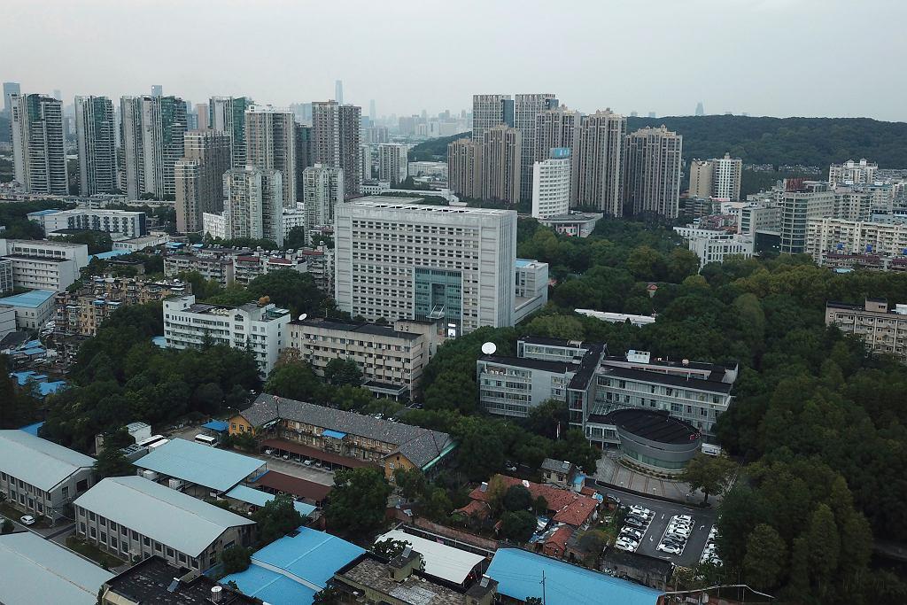 Koronawirus w Wuhan w Chinach.