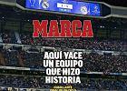 """Liga Mistrzów. Hiszpańskie media pastwią się nad Realem Madryt. """"Tutaj spoczywa drużyna"""""""