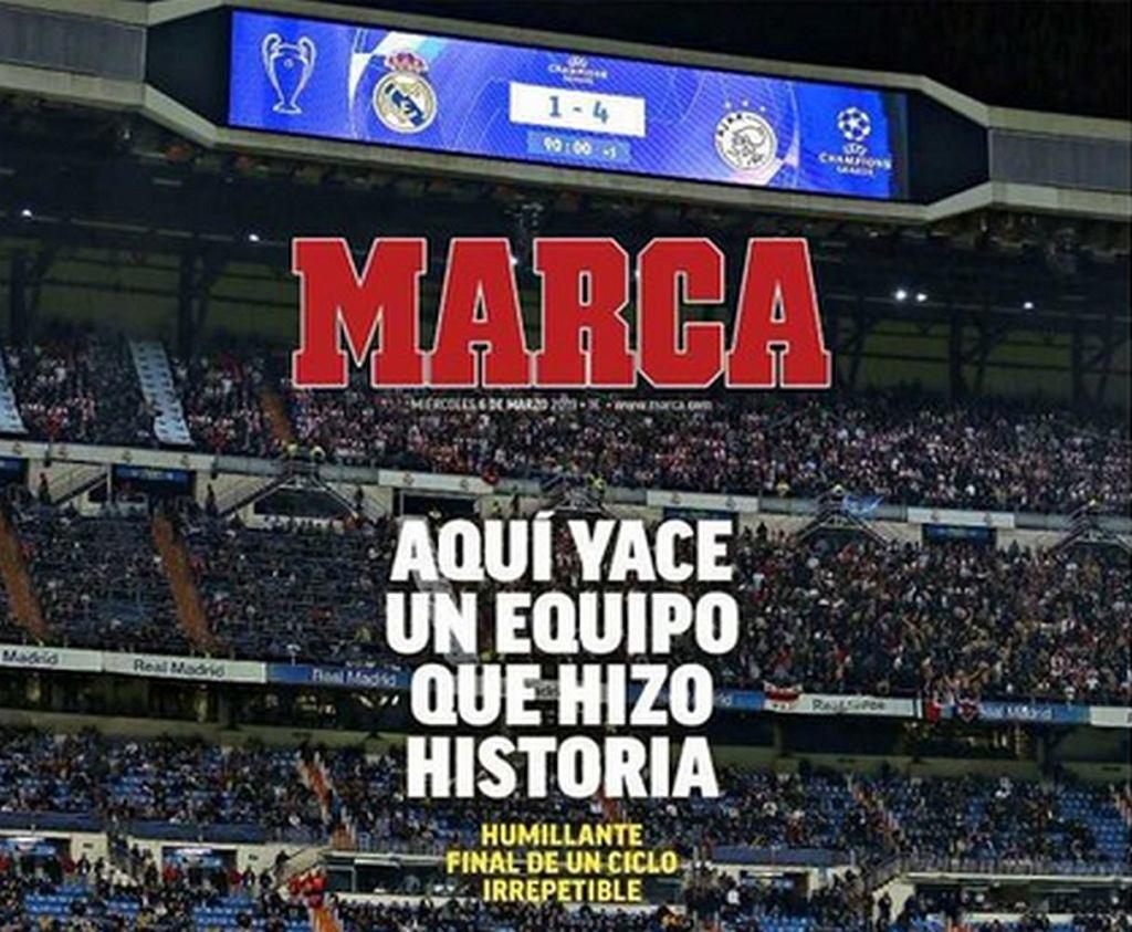Okładka dziennika 'Marca'