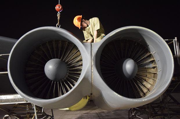 Silniki TF33 bombowca B-52