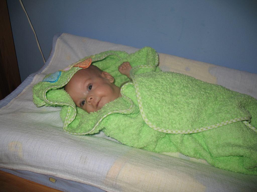 Wiktoria spędziła w szpitalu 6 miesięcy. Kiedy ważyła ponad 3 kg została wypisana ze szpitala do domu. fot: archiwum prywatne