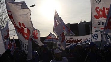 Manifestacja Solidarności / zdjęcie ilustracyjne