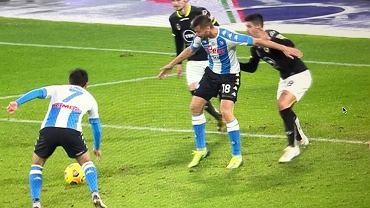 Fatalne nieporozumienie między piłkarzami Napoli w 94. minucie w meczu ze Spezią
