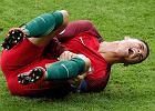 Sensacja w finale EURO 2016. Kontuzjowany Ronaldo schodzi z boiska!