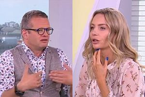 Marcin Meller i Agnieszka Woźniak-Starak w 'DD TVN'