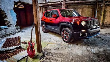 Jeep Renegade przygotowany na Montreux Jazz Festival