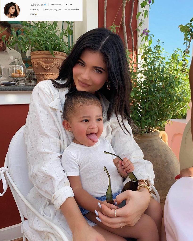 Kylie Jenner i Stormi