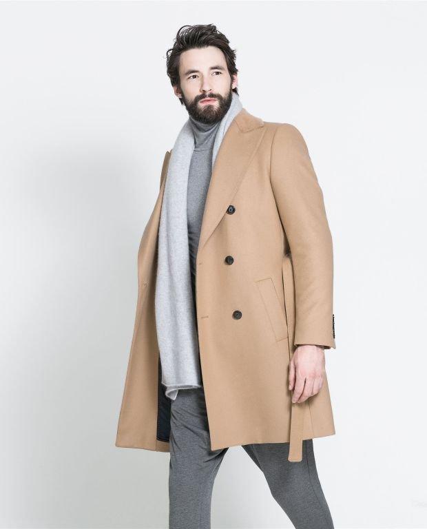Płaszcz z kolekcji Zara. Cena: 899 zł, moda męska, płaszcze, zara