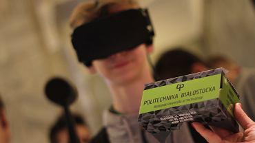 Gogle VR - gadżet promocyjny Politechniki Białostockiej