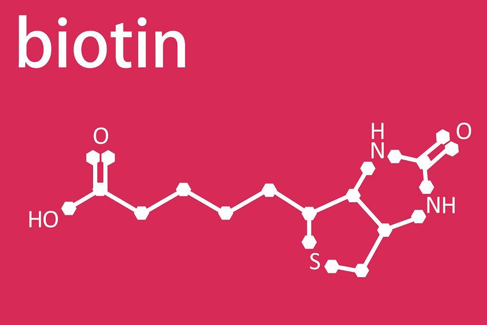 Jednym z kofaktorów jest biotyna