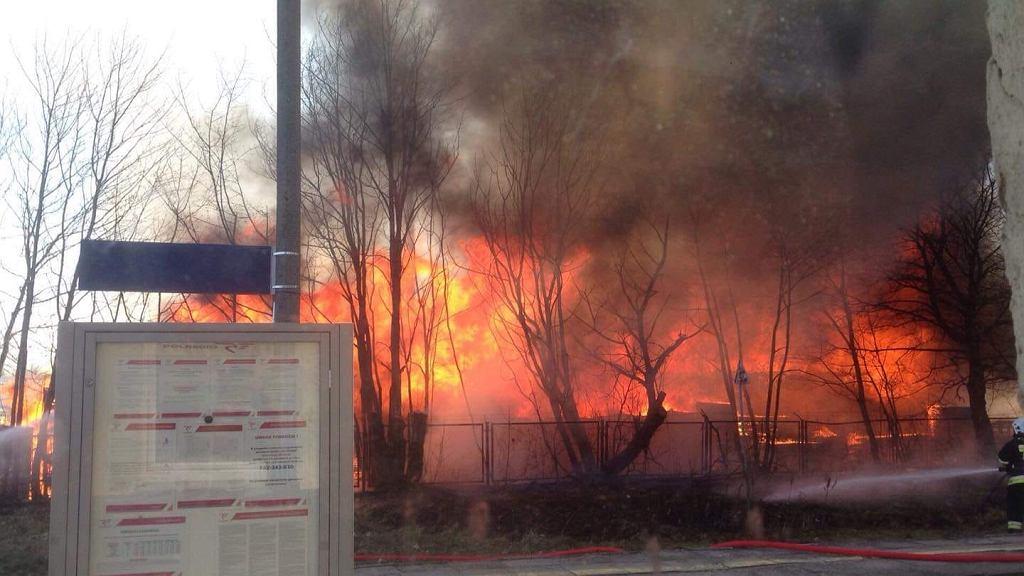 Pożar w Dziemianach