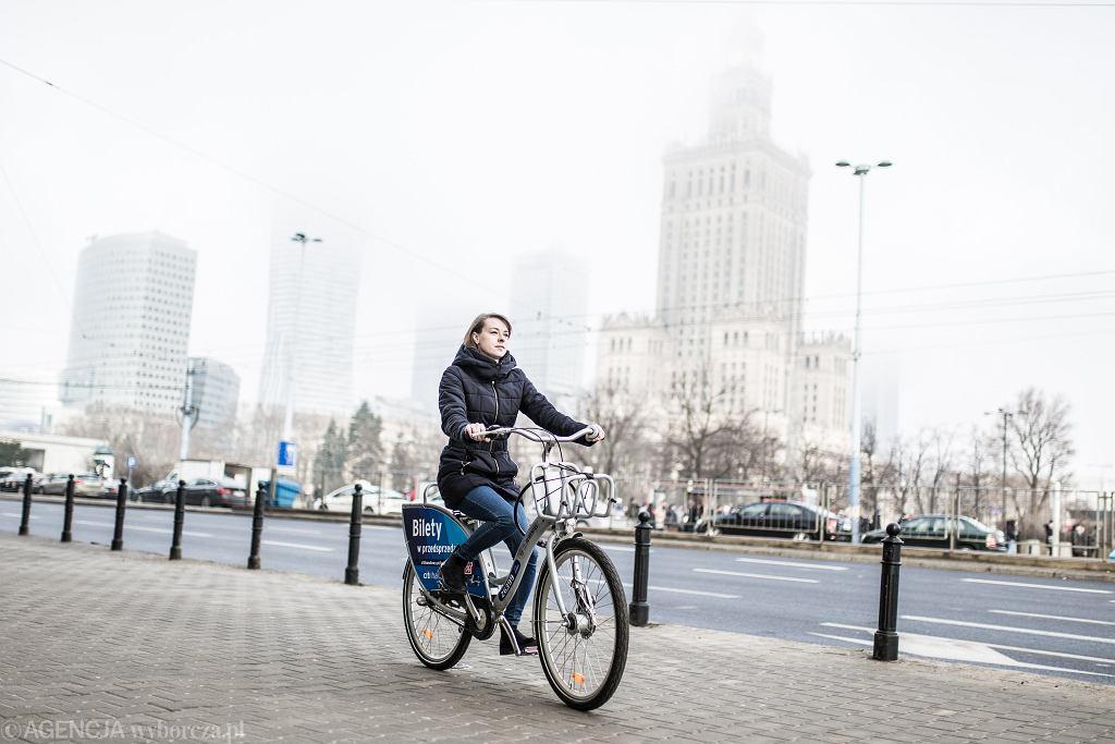 Rowery Veturilo w nowym sezonie w Warszawie
