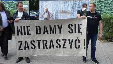 18.07.2018, protest Obywateli RP pod Sejmem.