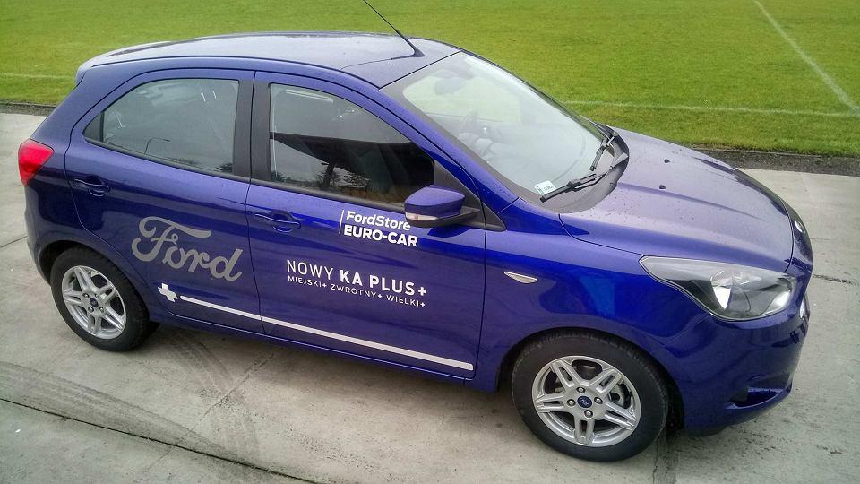 Ford KA+ z Euro Car Ford Store z Gdyni