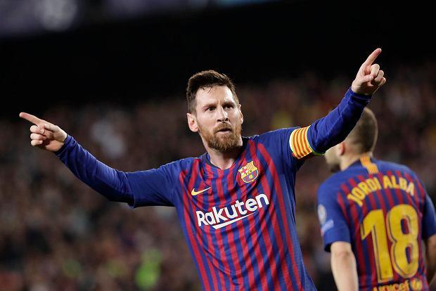 Lionel Messi jest piłkarzem spoza czasu. Liverpool nie był w stanie się przed nim obronić