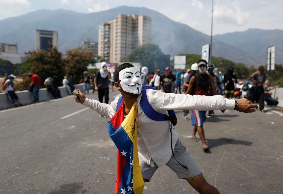 Starcia w Caracas, 1 maja 2019