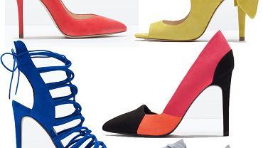 Wiosenna kolekcja butów Zara