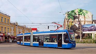 Tramwaj Pesa w Kijowie