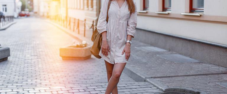 Sukienki koszulowe z polskich sieciówek