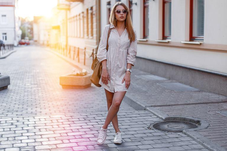 257b482302e42 Sukienki koszulowe z polskich sieciówek - ubierz się w.