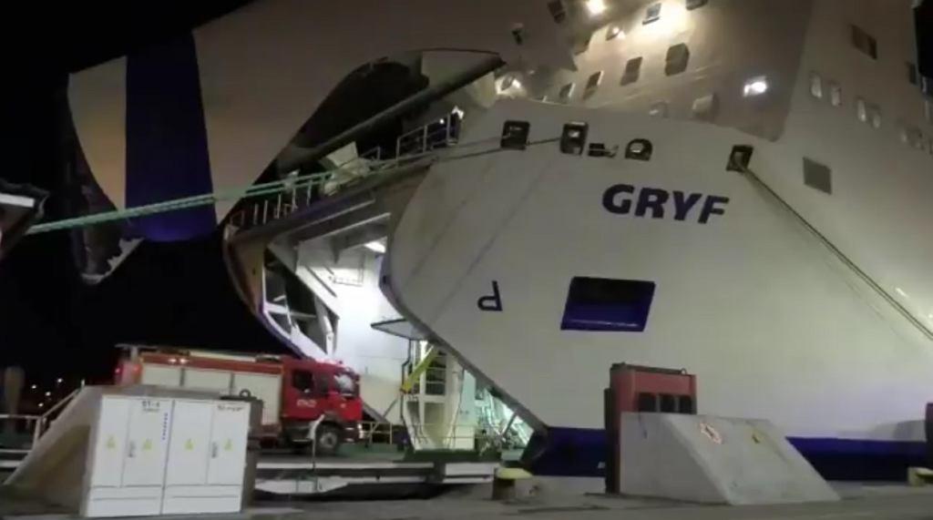 Prom MF 'Gryf' pływający we flocie Unity Line