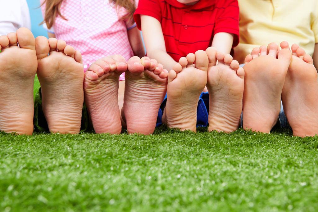 Dziecięce stopy