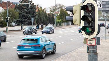 Samochody połączone z siecią sygnalizacji świetlnej