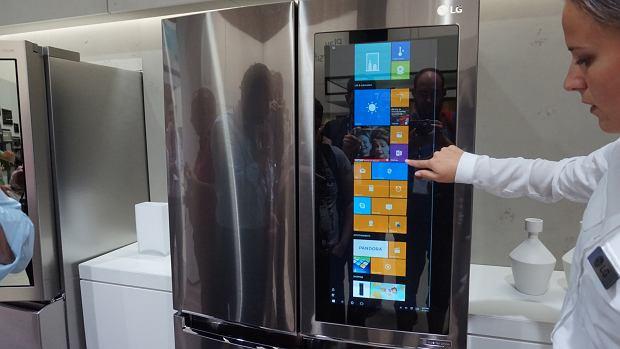 Lodówka LG z Windows 10 | IFA 2016