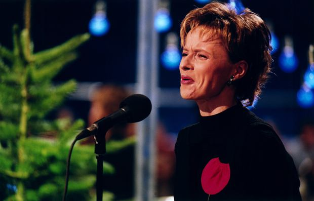 Jolanta Pieńkowska w 2001 roku