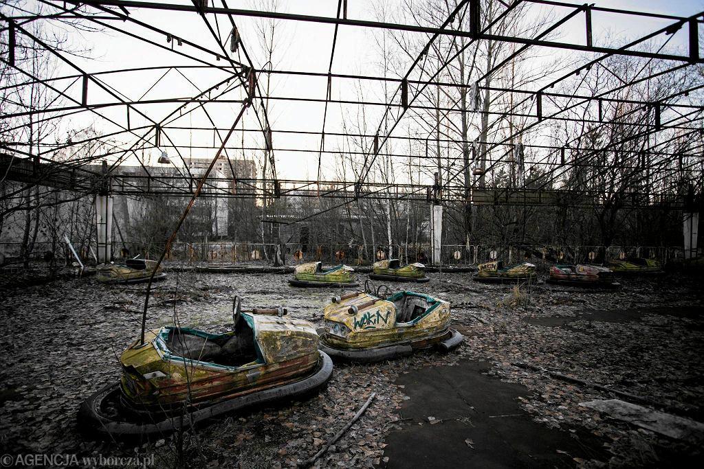 Okolice elektrowni w Czarnobylu