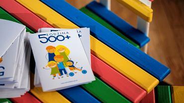 500 plus. Zdjęcie ilustracyjne