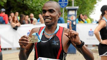 Półmaraton Gryfa 2014. Joel Maina Mwangi