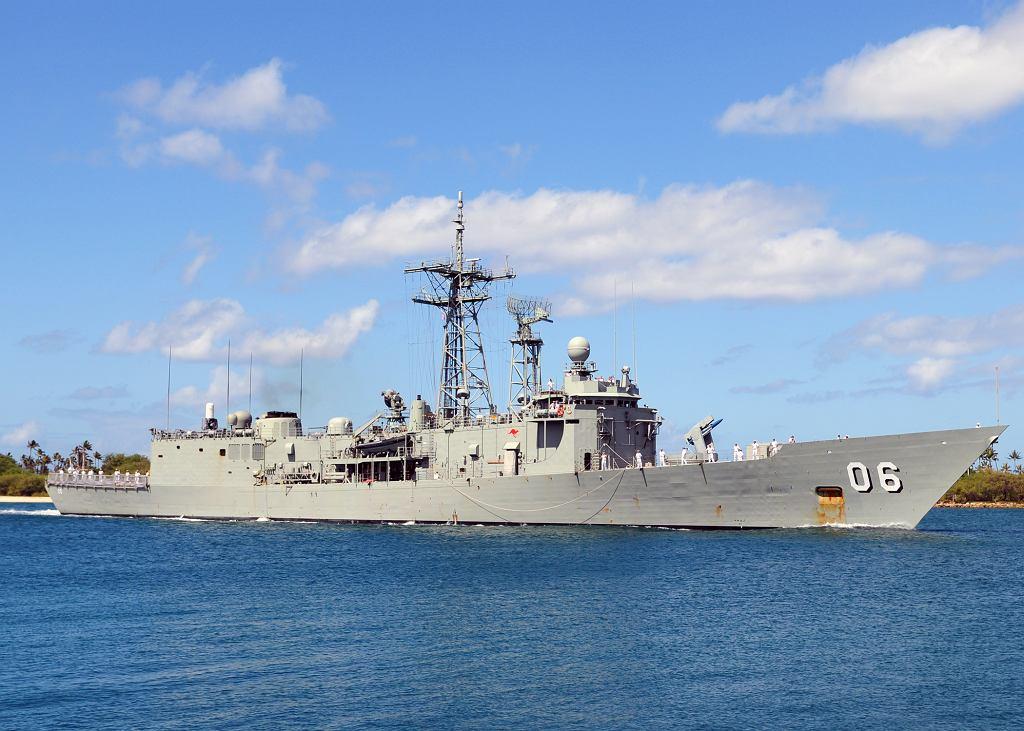 Australijska fregata typu Adelaide - HMAS Newcastle