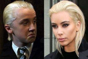 Draco Malfoy i Kim Kardashian